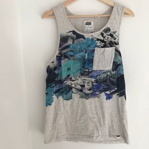 PacSun Awesome Star Wars Floral Tank
